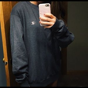 Grey Champion oversized Crewneck Sweatshirt